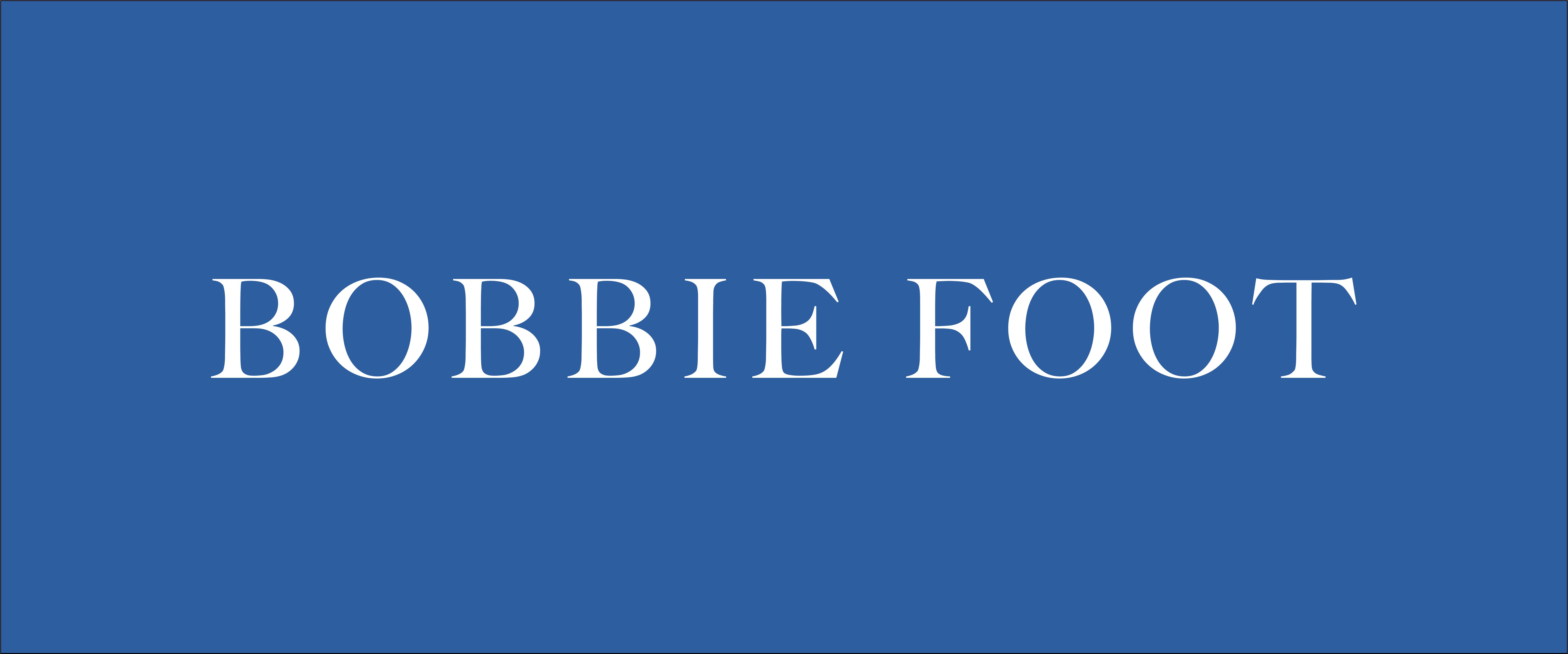 Bobbie Foot Logo